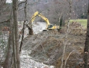 Dredging the Chickley River