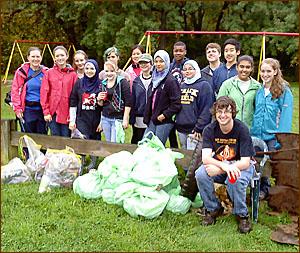 East Hartford Hockanum River cleanup group