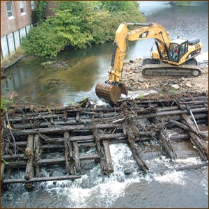 Homestead Dam removal