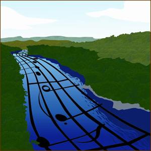 River Songs logo