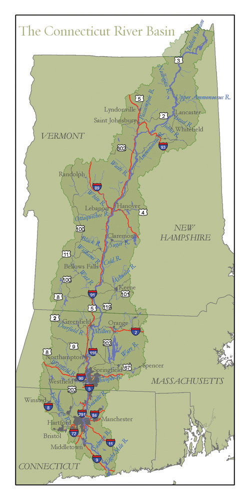 Connecticut River Map Printable Maps – Connecticut River Conservancy