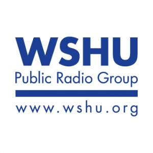 WSHU Blue And White Logo