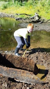 suffield canal trail river clean up