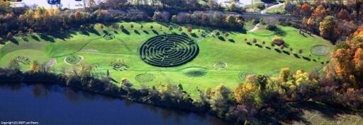 Path Of Life Garden-aerial