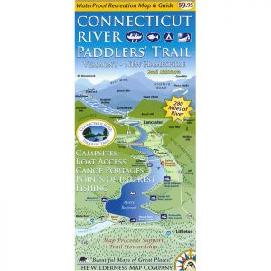 CT River Paddlers' Trail Map Cover 2nd Ed