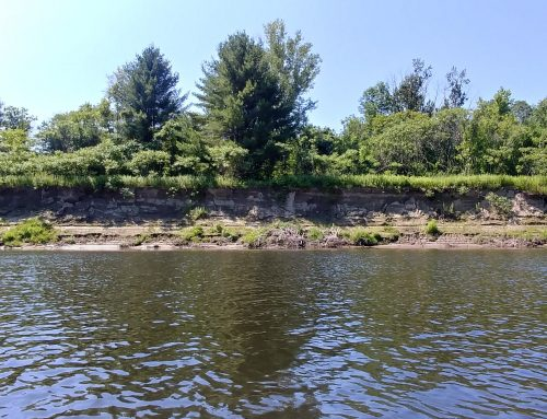 Towns along the Connecticut River have been losing land since the 40s!