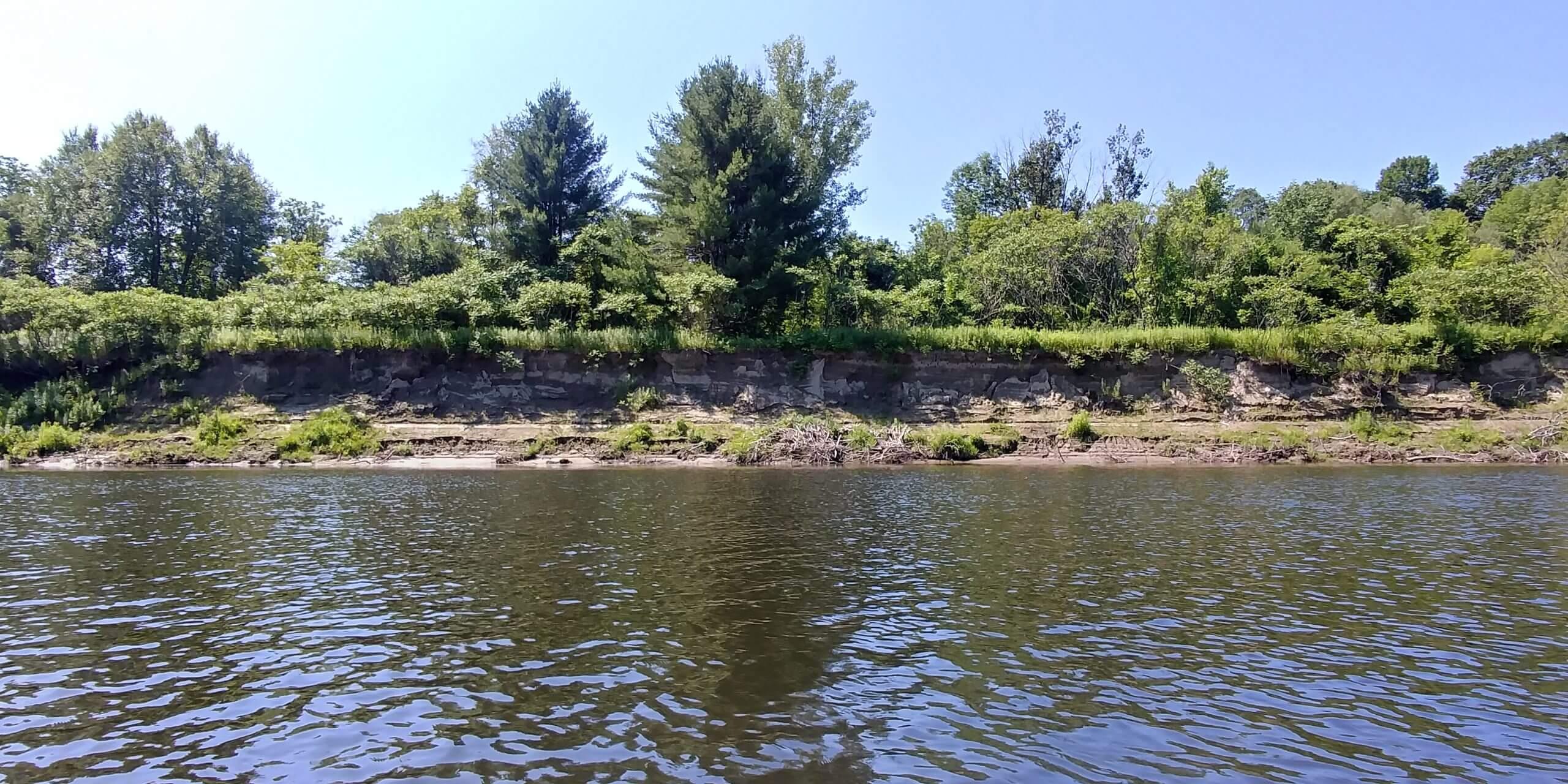 erosion in Claremont, NH