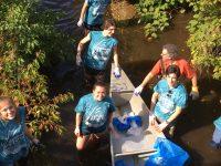 keene high apes help clean up beaver brook
