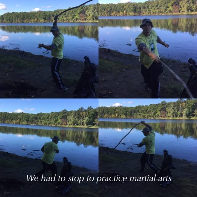 stick practice