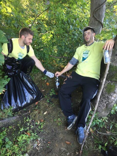 bottle cleanup