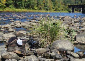 river trudgin