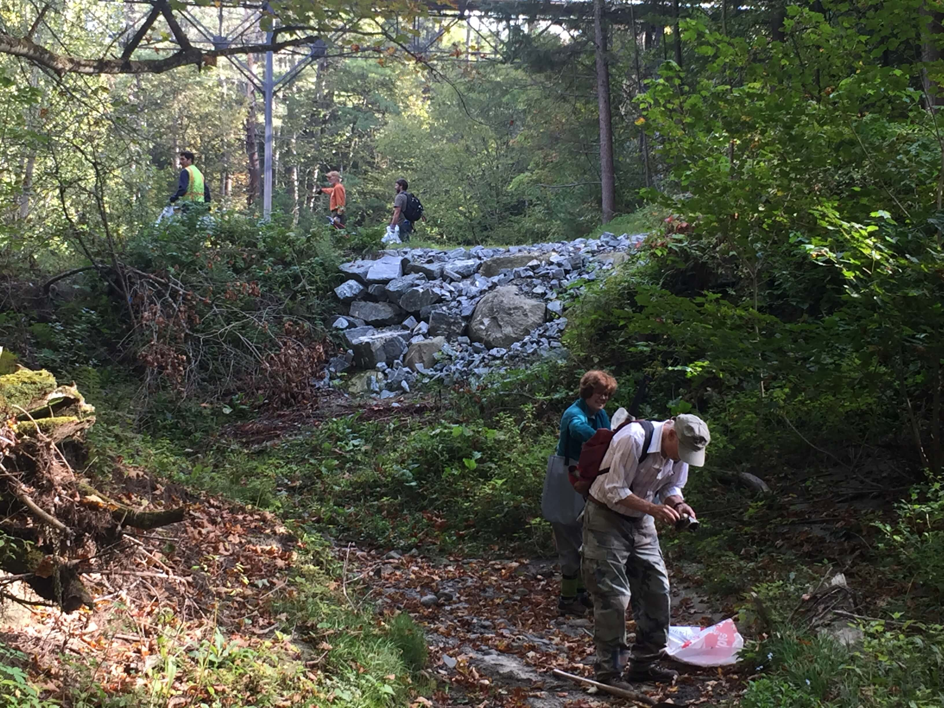 lending a helping hand to nurture nature