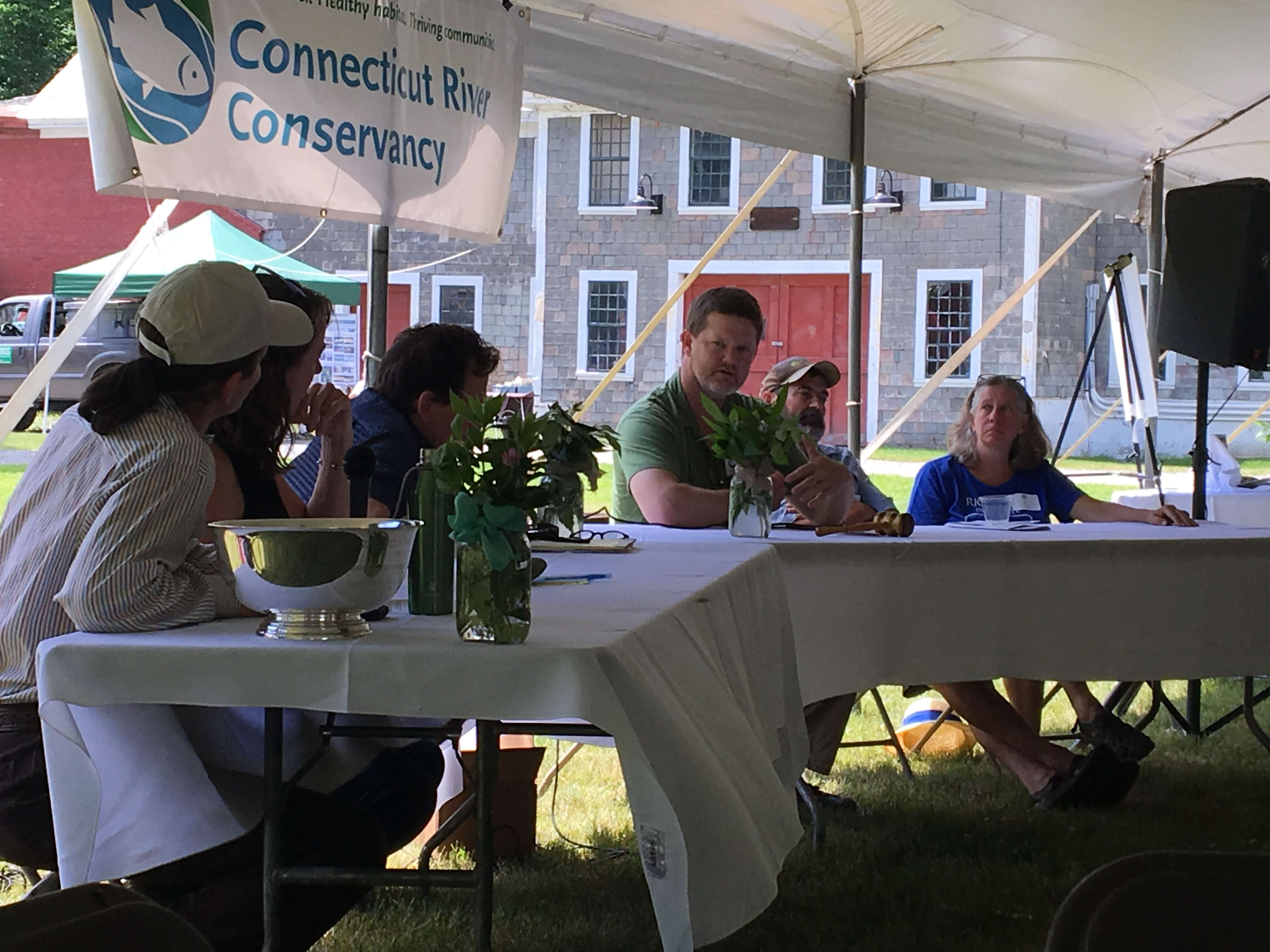 Farm/River Roundtable at CRC's River Celebration
