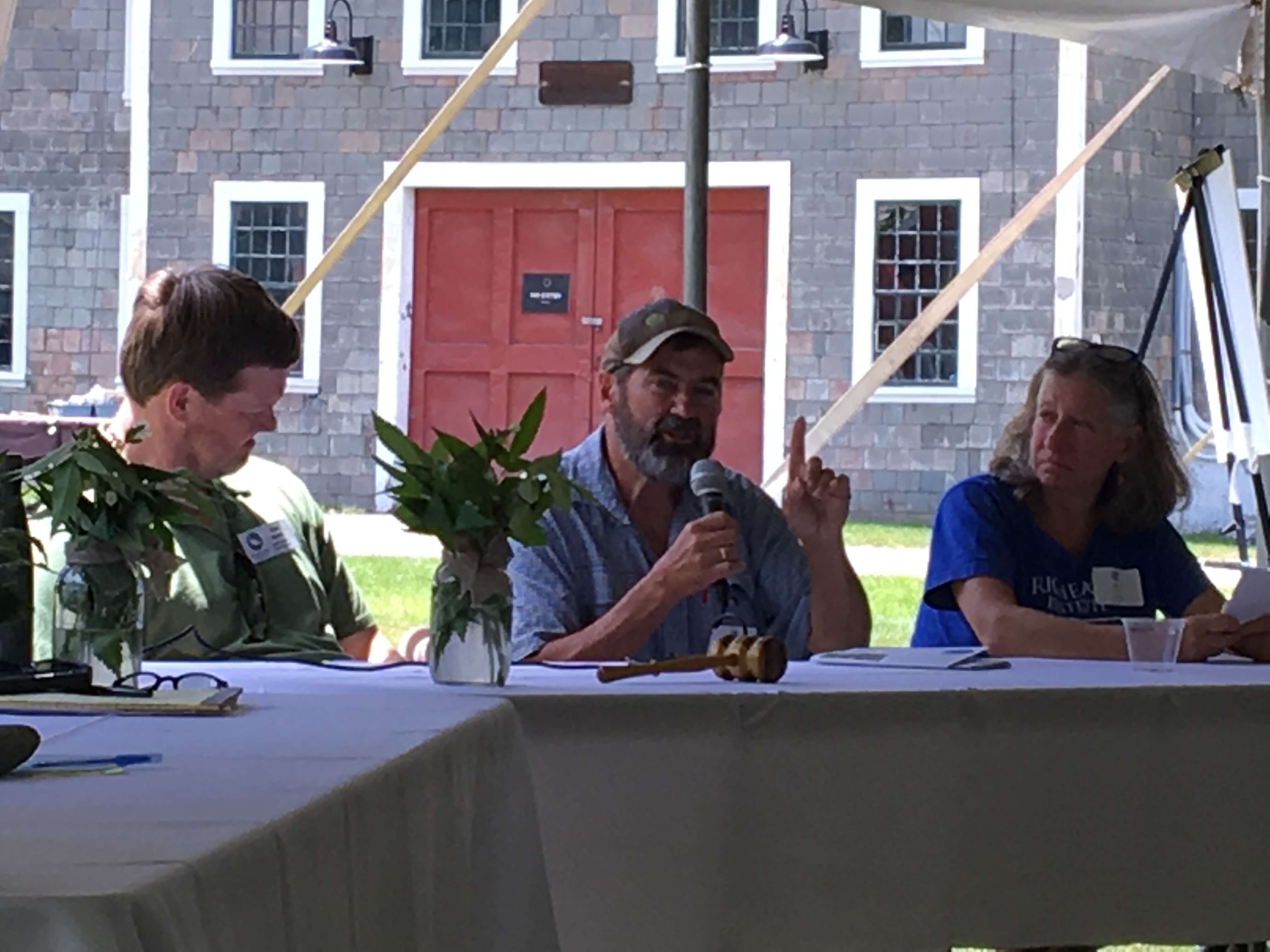 Tom Beaudry, Farm/River Roundtable at CRC's River Celebration