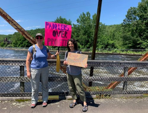 Portage Parades Send Message to FirstLight Power, Great River Hydro
